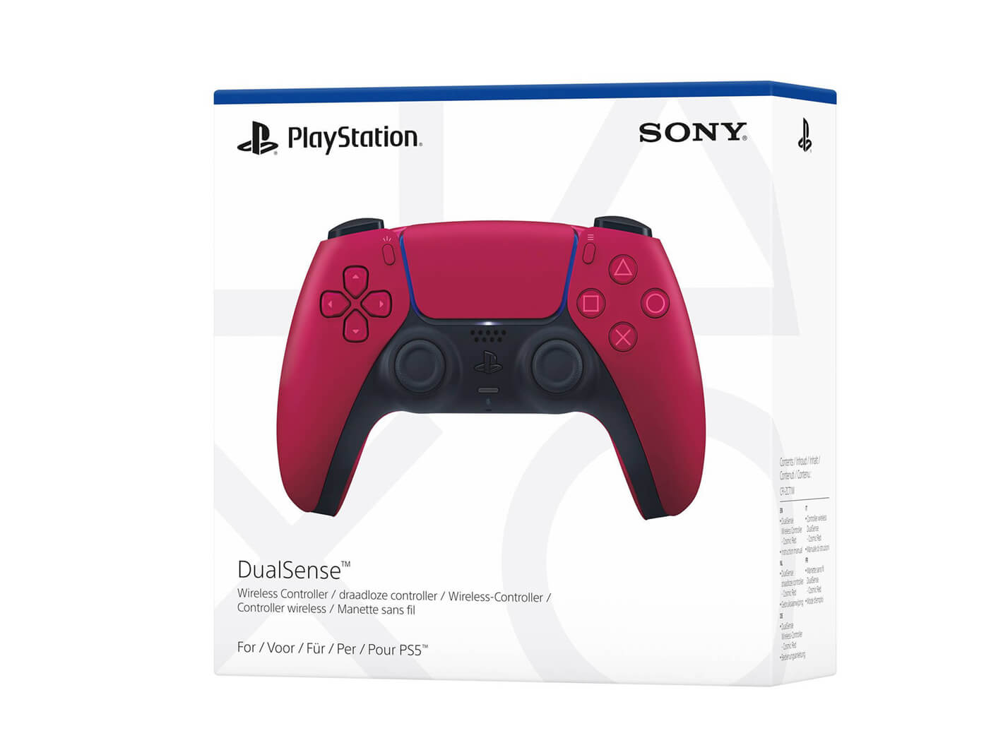 PlayStation 5 Dualsense controller - Cosmic Red
